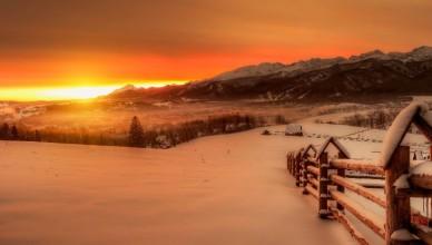 246695_zachod_slonca_zima_snieg_gory
