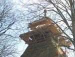 Remont wieży 2015 r.